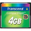 Transcend CompactFlash 4 GB (120X)